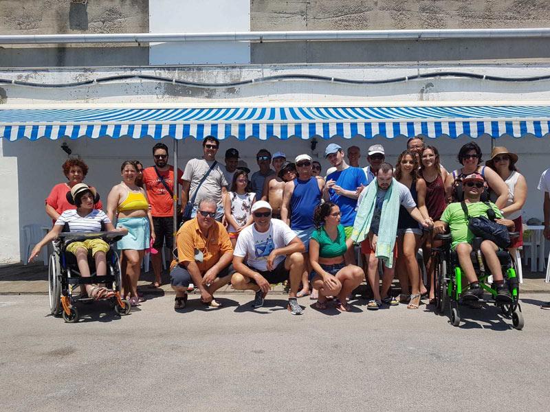 """""""Mare senza barriere"""", 13 disabili col Circolo nautico"""